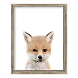 Boston Warehouse® Baby Fox 12-Inch x 15-Inch Framed Wall Art