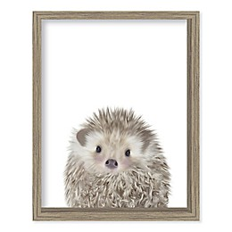 Boston Warehouse® Baby Hedgehog 15-Inch x 12-Inch Framed Wall Art