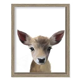 Boston Warehouse® Baby Deer 12-Inch x 15-Inch Framed Wall Art