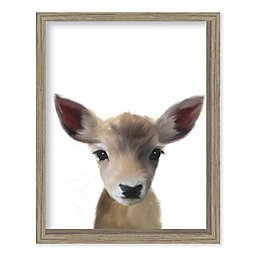 Boston Warehouse® Baby Deer 12-Inch x 15-Inch Framed Wall Art