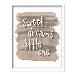 Boston Warehouse® 21-Inch x 17-Inch Sweet Dreams Canvas Wall Art