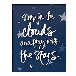 Boston Warehouse® 21-Inch x 17-Inch Sleep and Play Canvas Wall Art