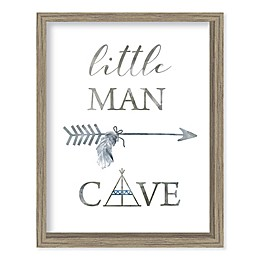 Boston Warehouse® Little Man Cave Canvas Wall Art