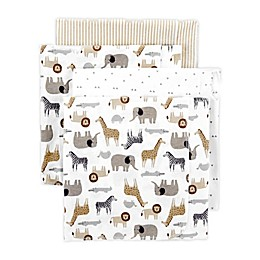 carter's® 4-Pack Zoo Receiving Blankets