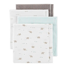 carter's® 4-Pack Elephant Receiving Blankets