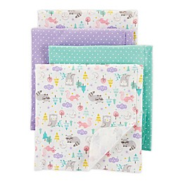 carter's® 4-Pack Woodland Receiving Blankets