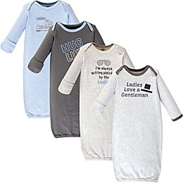 Luvable Friends® Size 0-6M 4-Pack \