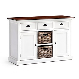 NovaSolo Accent Buffet With 2 Baskets
