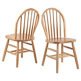 Winsome™ Windsor Dining Chairs in Natural (Set of 2)