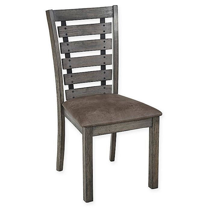 Alternate image 1 for Progressive Furniture Fiji Harbor Dining Chairs in Grye (Set of 2)