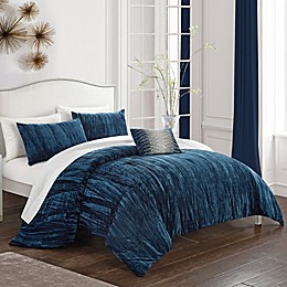 Chic Home Merieta 4-Piece Reversible Comforter Set