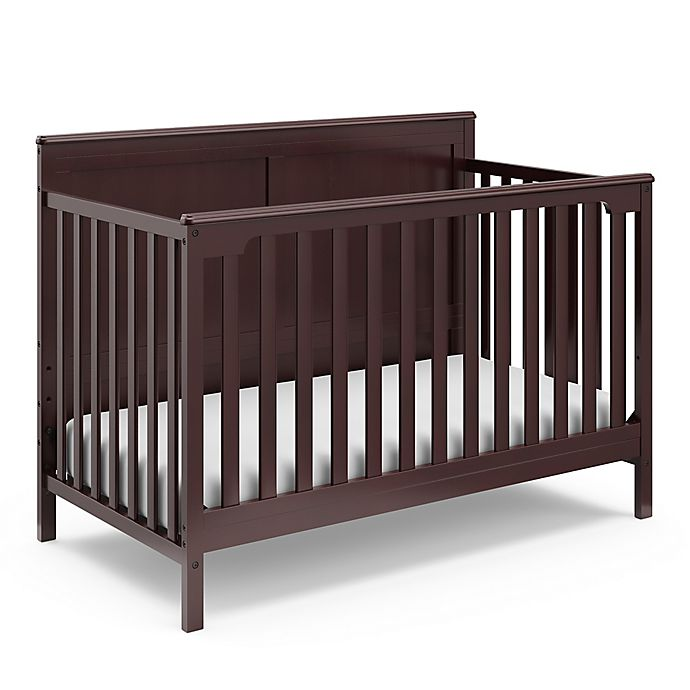 Alternate image 1 for Storkcraft™ Alpine 4-in-1 Convertible Crib in Espresso