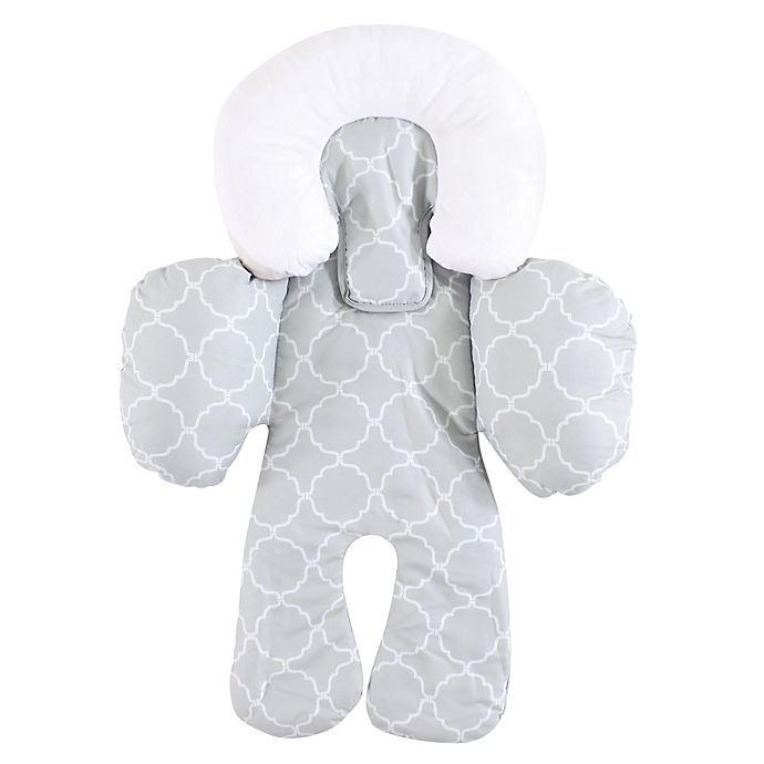 Alternate image 1 for Hudson Baby® Car Seat Head and Body Support Insert in Grey