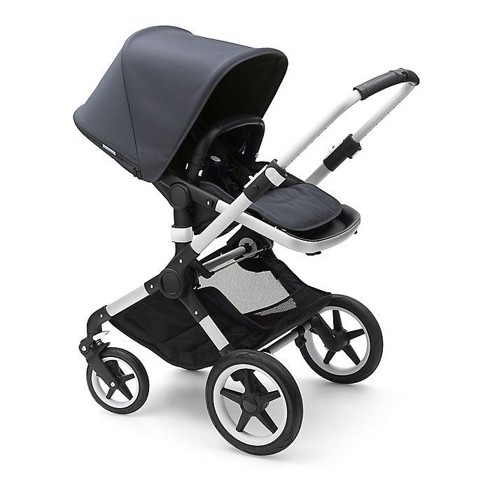 Alternate image 1 for Bugaboo Fox Complete Stroller in Steel Blue