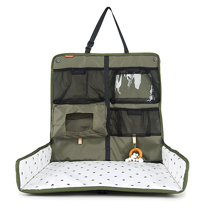 Alternate image 1 for Beanko® Mobile Diaper Changing Station in Olive