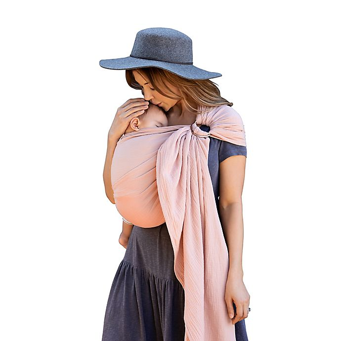 Alternate image 1 for Moby® Wrap Ring Sling Baby Carrier