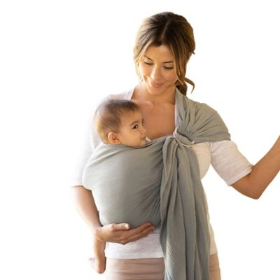 Moby® Wrap Ring Sling Baby Carrier in Pewter