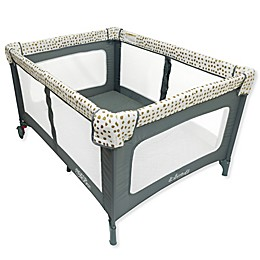 Romp & Roost® LUXE Playard in Gold Pods