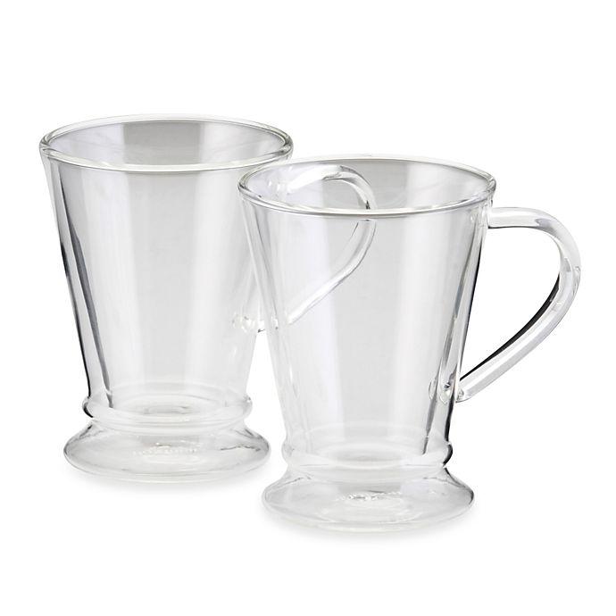 Alternate image 1 for BonJour® Coffee and Tea 10-Ounce Insulated Coffee Mug 2-Piece Set