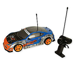 Grandex Street Fire Racer Remote-Control Car in Blue