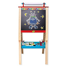 Crayola® 7-Piece Double-Sided Wood Easel Set