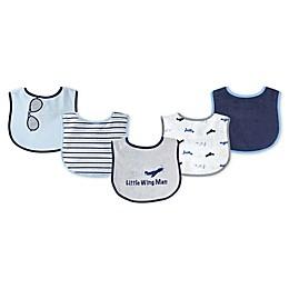 Luvable Friends® 5-Pack Drooler Bibs