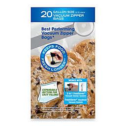 FoodSaver® FreshSaver® 20-Count Gallon Size Vacuum Zipper Bags
