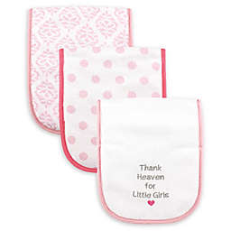 Luvable Friends® 3-Pack Thank Heaven Drooler Bib Set