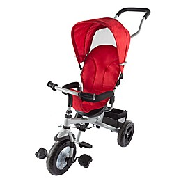Lil' Rider 4-in-1 Stroller Trike in Red/Black