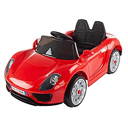 Lil' Rider Ride-On Toy Motorized Sports Car