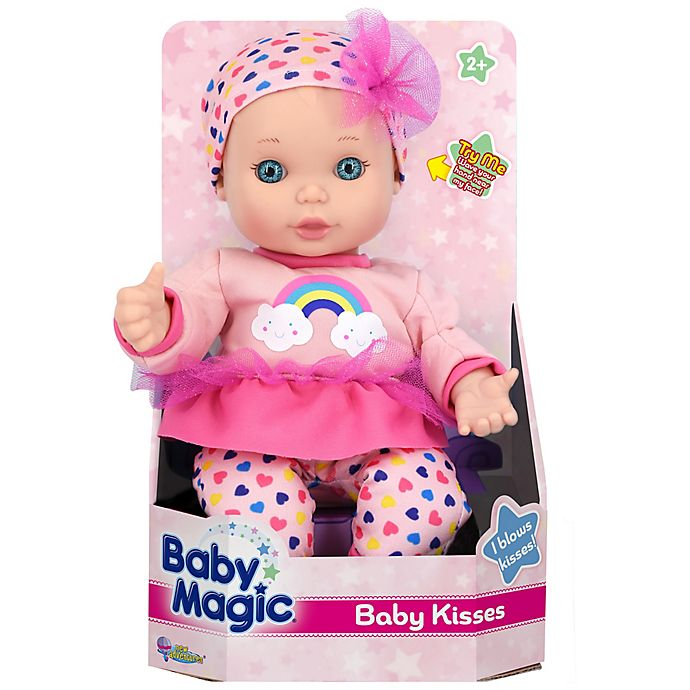 Alternate image 1 for Baby Magic® Baby Kisses Doll