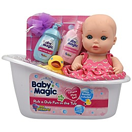 Baby Magic® Rub a Dub Fun in the Tub 7-Piece Doll Set