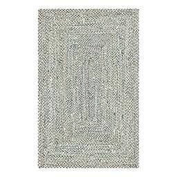 Unique Loom Braided Chindi Braided Multicolor Area Rug