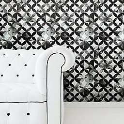 RoomMates® Moroccan Tile Peel & Stick Wallpaper in Black
