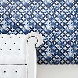 RoomMates® Moroccan Tile Peel & Stick Wallpaper in Blue