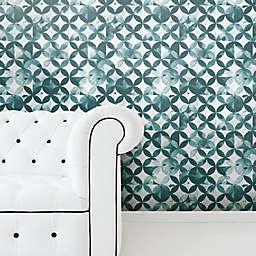 RoomMates® Moroccan Tile Peel & Stick Wallpaper in Green
