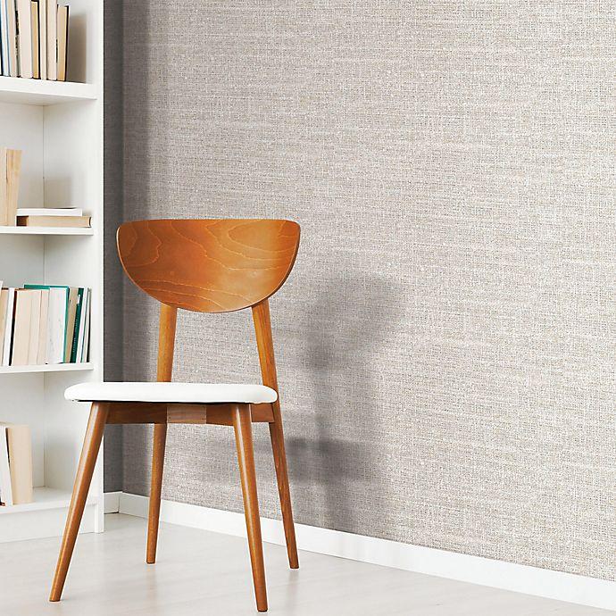 Alternate image 1 for RoomMates® Tweed Peel & Stick Wallpaper