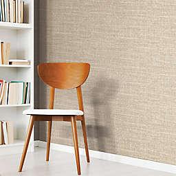 RoomMates® Tweed Peel & Stick Wallpaper in Brown