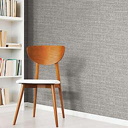 RoomMates® Tweed Peel & Stick Wallpaper in Grey