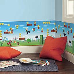 RoomMates® Mario Scene Peel & Stick Wallpaper Border