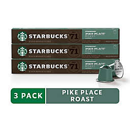 Starbucks® by Nespresso® Pike Place Coffee 30-Count Capsules