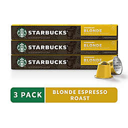 Starbucks® by Nespresso® Blonde Espresso 30-Count Capsules