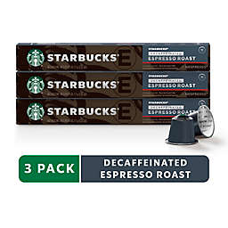 Starbucks® by Nespresso® Decaf Espresso 30-Count Capsules