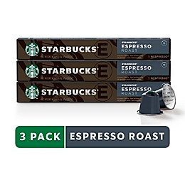 Starbucks® by Nespresso® Espresso Roast 30-Count Capsules