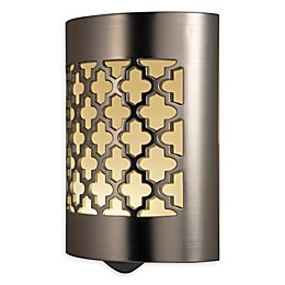 GE LED Coverlite Night Light in Brushed Nickel