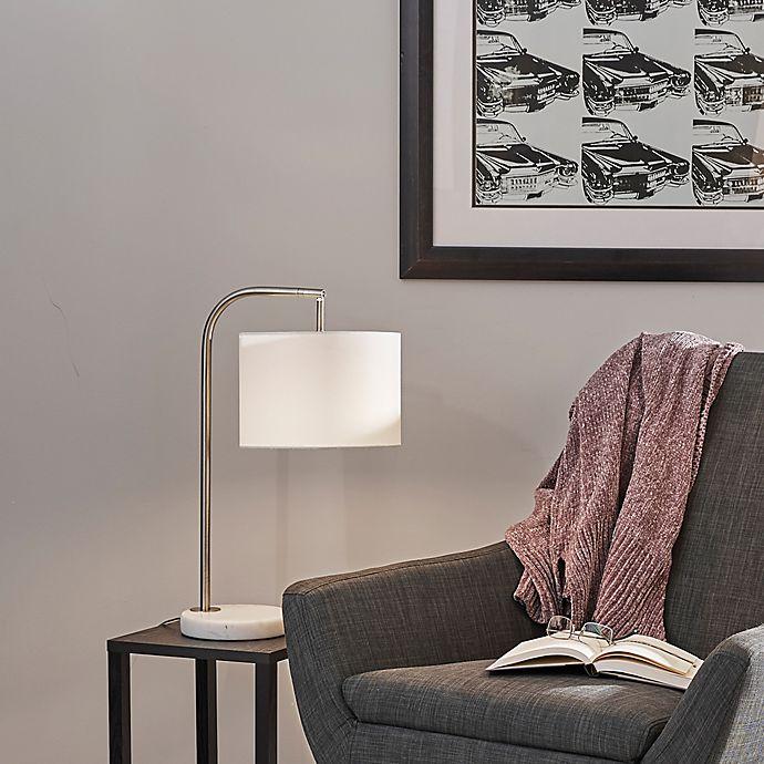 Alternate image 1 for O&O by Olivia & Oliver Downbridge Table Lamp in Brushed Steel