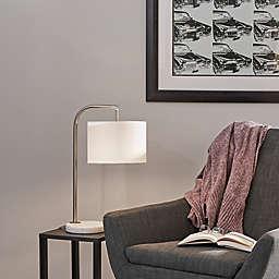 O&O by Olivia & Oliver Downbridge Table Lamp in Brushed Steel