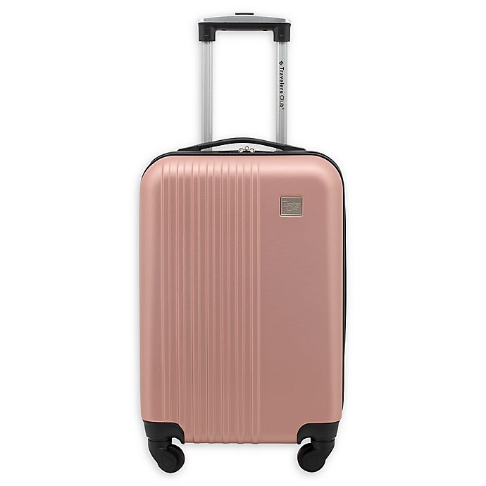 Alternate image 1 for Travelers Club® Ridgewood 20-Inch Hardside Spinner Carry On Luggage