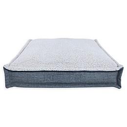 Bee & Willow™ Home Memory Foam Pet Sleep Square in Grey