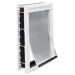Premier Pet™ Medium Plastic Pet Door in White